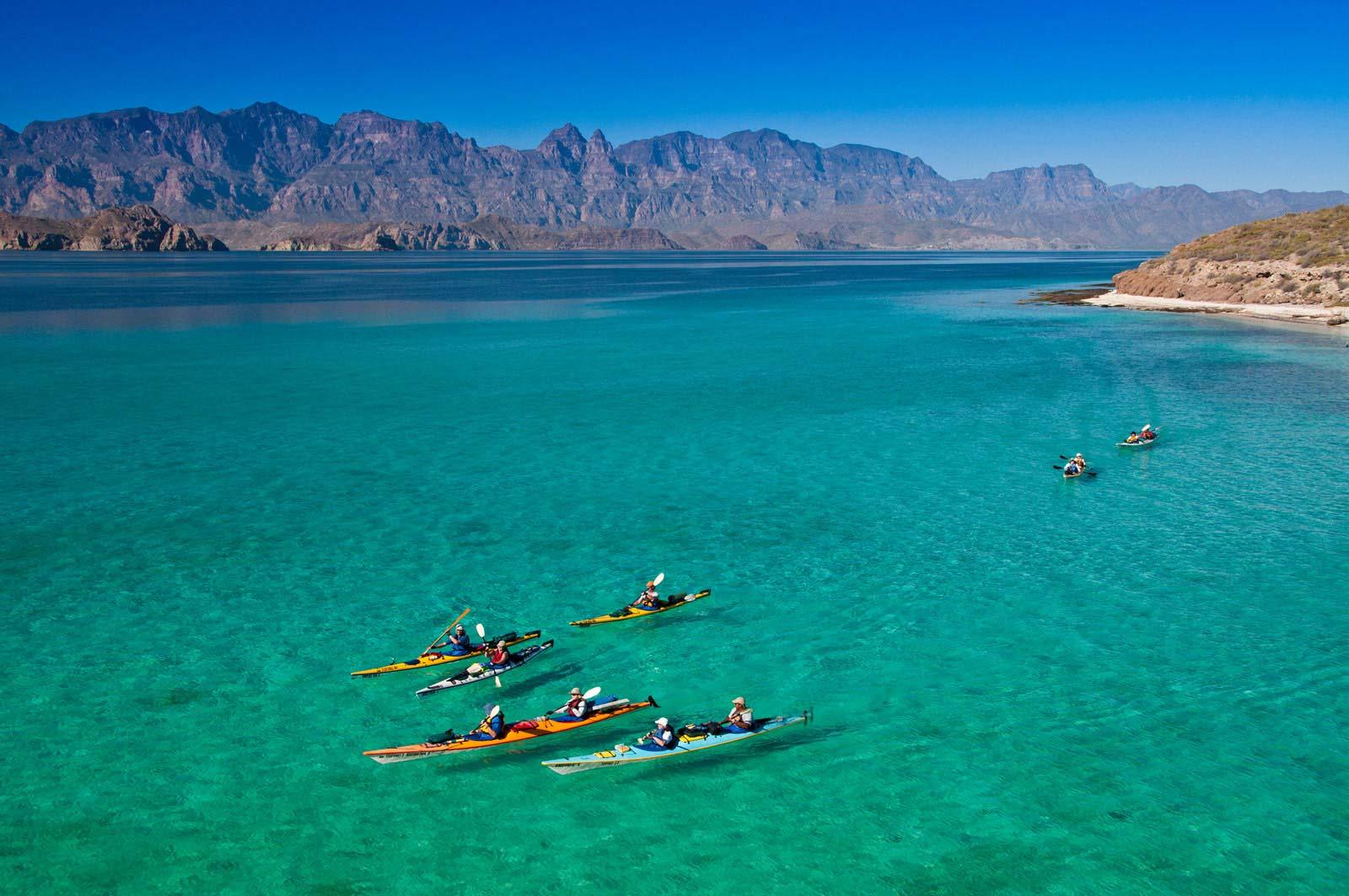 Baja Mexico Kayaking Tours