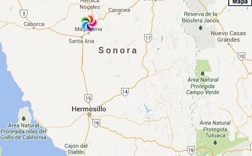 mapa hermosillo sonora pdf