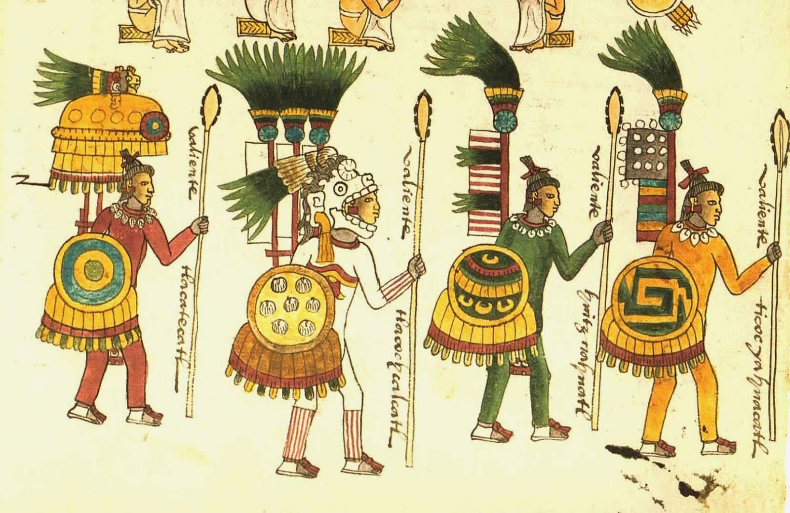 Las armas de las culturas prehispánicas en el México Antiguo ...