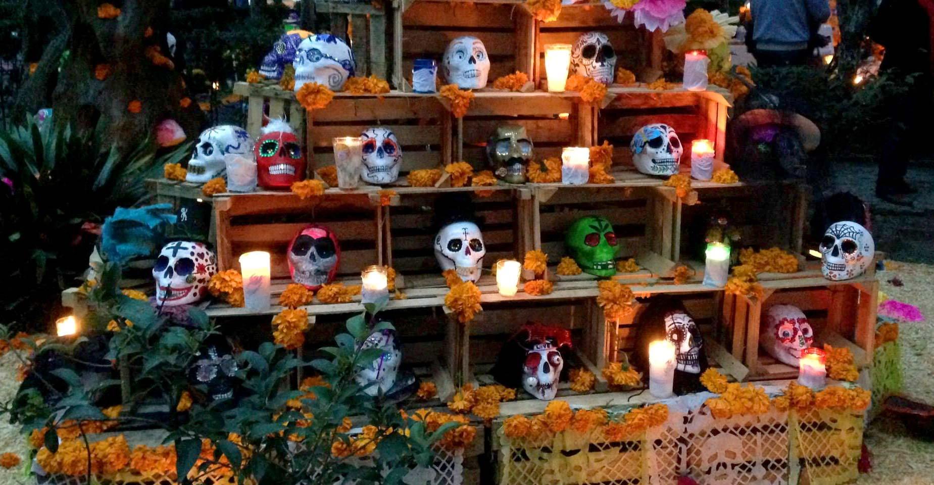 Decoracion Oficina Dia De Muertos ~ D?a de Muertos, as? naci? la tradici?n m?s viva de M?xico