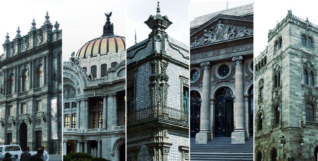 Fachadas del palacio de bellas artes pueblos magicos de for Sanborns bellas artes