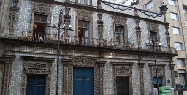 Casa de los azulejos en el centro cdmx pueblos magicos for Fachadas de casas con azulejo