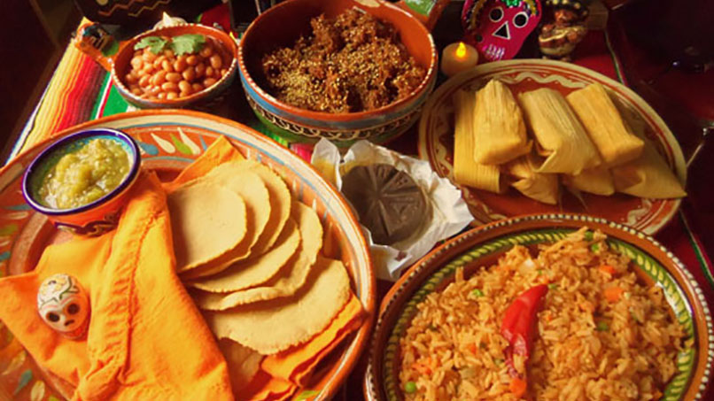 Monterrey Mexico Day Of The Dead Festival Foods