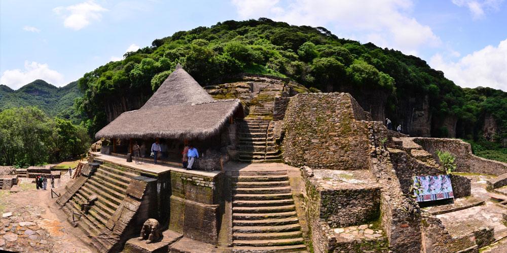 Zona arqueológica de Malinalco, en el Estado de México