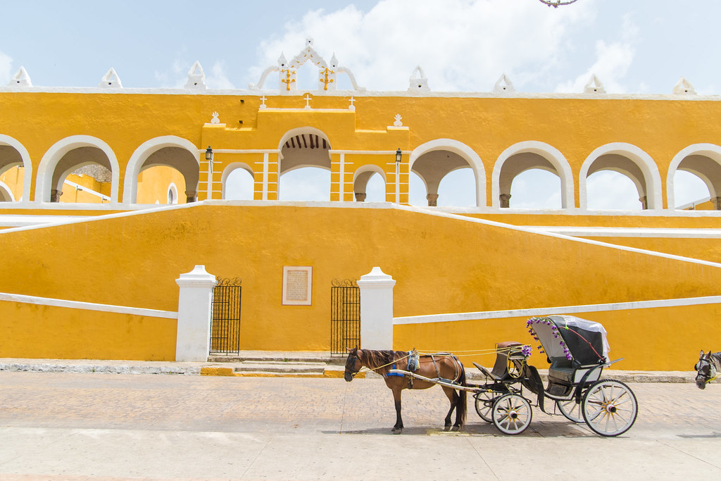 Top Cinco Atractivos de Izamal, Yucatán Playas en Mexico